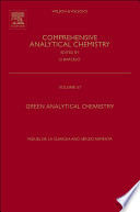 Green Analytical Chemistry
