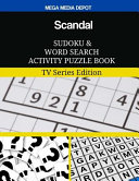 Scandal Sudoku And Word Search Activity Puzzle Book
