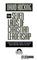 The Seven Laws of Christian Leadership