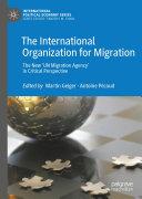 The International Organization for Migration Pdf/ePub eBook