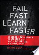 Fail Fast, Learn Faster