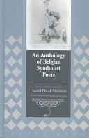 An Anthology of Belgian Symbolist Poets