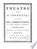 Théatre de P. Corneille