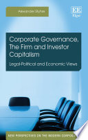 Corporate Governance  The Firm and Investor Capitalism