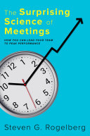 The Surprising Science of Meetings Book