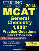 Sterling MCAT General Chemistry Practice Questions