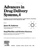 Advances in Drug Delivery Systems, 4