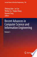Recent Advances In Computer Science And Information Engineering Book PDF