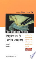 Fibre reinforced Polymer Reinforcement For Concrete Structures  In 2 Volumes    Proceedings Of The Sixth International Symposium On Frp Reinforcement For Concrete Structures  Frprcs 6