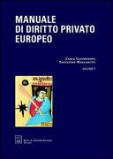 Manuale di diritto privato europeo