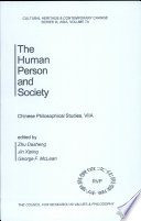 The Human Person And Society