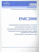Proceedings of the 3rd Energy Nanotechnology International Conference  2008