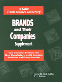 Brands and Their Companies Supplement