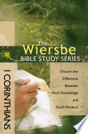 The Wiersbe Bible Study Series  1 Corinthians Book PDF