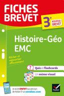 Pdf Fiches brevet Histoire-Géographie EMC 3e Brevet 2022 Telecharger