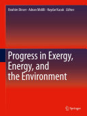 Progress in Exergy  Energy  and the Environment