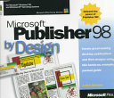 Microsoft Publisher 98 by Design