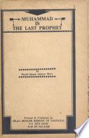 Muhammad is the Last Prophet Book PDF