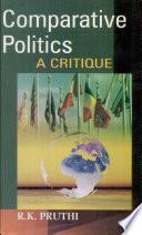 Comparative Politics  A Critique Book PDF