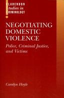 Negotiating Domestic Violence