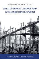 Institutional Change and Economic Development