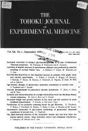 The Tohoku Journal Of Experimental Medicine Book PDF
