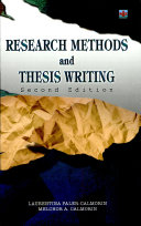 Research Methods and Thesis Writing  2007 Ed