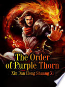 The Order Of Purple Thorn Book