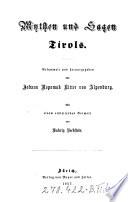 Mythen und Sagen Tirols