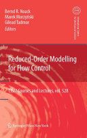 Pdf Reduced-Order Modelling for Flow Control