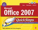 Microsoft Office 2007 QuickSteps [Pdf/ePub] eBook