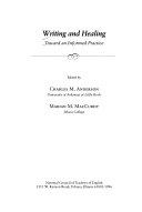 Writing and Healing Book