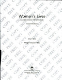 Women s Lives Book PDF