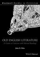Pdf Old English Literature