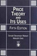 Price Theory and Its Uses