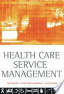 Health Care Service Management Book