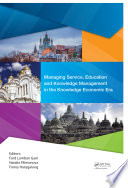 Managing Service Education And Knowledge Management In The Knowledge Economic Era