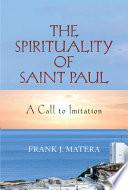 Spirituality of Saint Paul  The