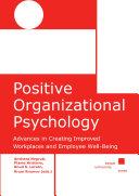 Positive Organizational Psychology