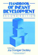 Handbook of Infant Development