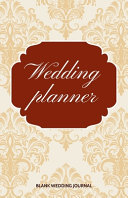 Wedding Planner Small Size Blank Journal Wedding Planner To Do List 5 5 x8 5  120 Pages Book 11