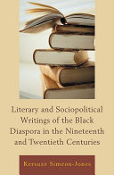 Pdf Literary and Sociopolitical Writings of the Black Diaspora in the Nineteenth and Twentieth Centuries Telecharger