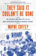 They Said It Couldn't Be Done [Pdf/ePub] eBook