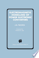 Electromagnetic Modelling of Power Electronic Converters
