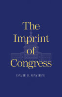 The Imprint of Congress Pdf/ePub eBook