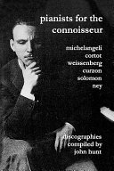 Pianists for the Connoisseur