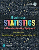 Cover of Business Statistics, Global Edition