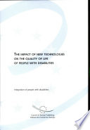 The Impact of New Technologies on the Quality of Life of People with Disabilities