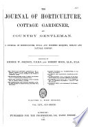 The Journal Of Horticulture Cottage Gardener And Country Gentlemen
