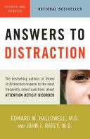 Answers to Distraction Pdf/ePub eBook